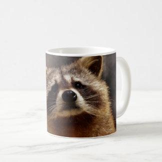 Curious Raccoon Coffee Mug