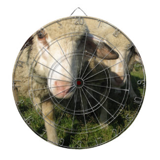 Curious sheep dartboard