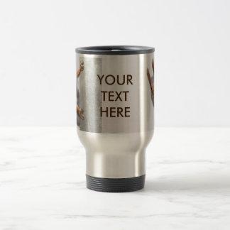 Curious squirrel travel mug