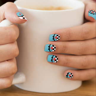 Curiouser and Curiouser Minx Nail Art