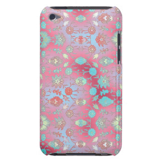 Curiously Colorful Floral Case-Mate iPod Touch Case
