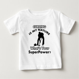 curl design baby T-Shirt
