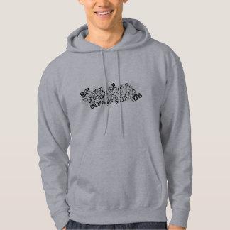 Curl design hoodie