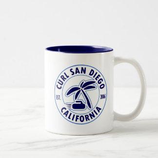 Curl San Diego Coffee Mug