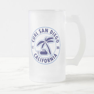 Curl San Diego Frosted Glass Mug