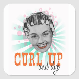 Curl Up and Dye Stickers