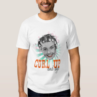 Curl Up And Dye Vintage Beauty Shirt