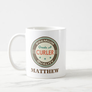 Curler Personalized Office Mug Gift
