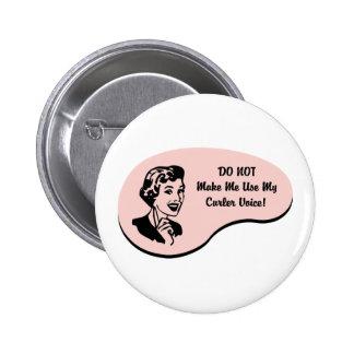 Curler Voice Pins