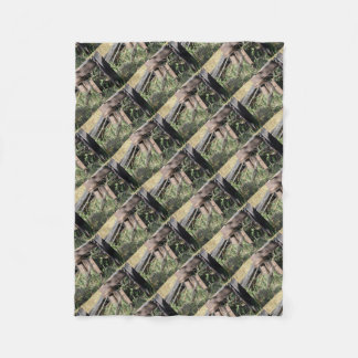 CURLEW QUEENSLAND AUSTRALIA FLEECE BLANKET