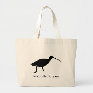 Curlew silhouette Bag