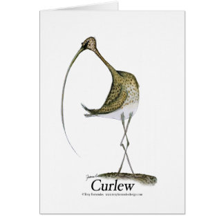 curlew, tony fernandes card
