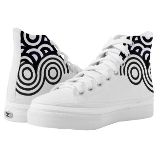 Curlicue High Tops