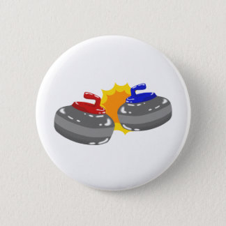 Curling 2 Inch Round Button