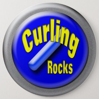 Curling 6 Inch Round Button