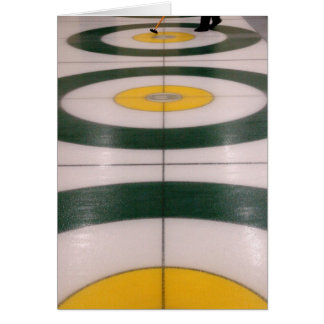 Curling action - Note Card
