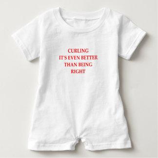 CURLING BABY ROMPER