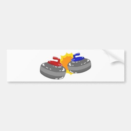 Curling Bumper Stickers
