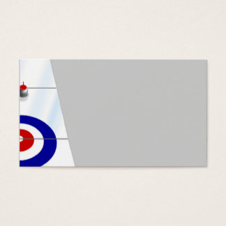 Curling Business Card
