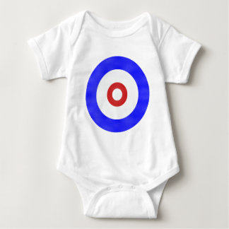 Curling Circle Iced Baby Bodysuit