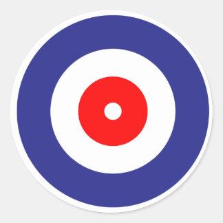 Curling Classic Round Sticker