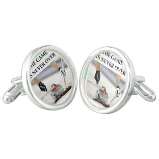 CURLING CUFFLINKS