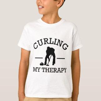 curling design T-Shirt