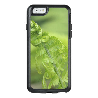 Curling Fern Leaves, Greenery, Blurred Background OtterBox iPhone 6/6s Case