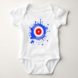 Curling Hooligan Baby Bodysuit