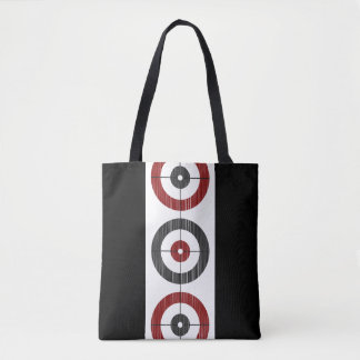 Curling Houses Tote Bag