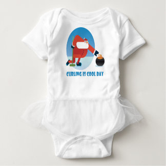 Curling Is Cool Day - Appreciation Day Baby Bodysuit