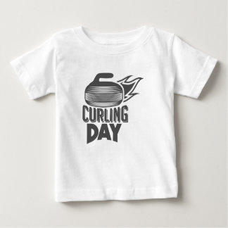 Curling Is Cool Day - Appreciation Day Baby T-Shirt
