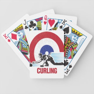 Curling Is Cool Day - Appreciation Day Bicycle Playing Cards