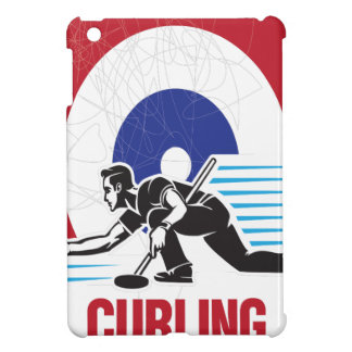 Curling Is Cool Day - Appreciation Day Cover For The iPad Mini