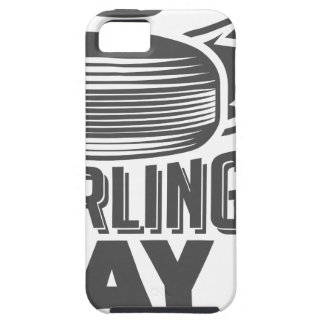 Curling Is Cool Day - Appreciation Day iPhone 5 Cover