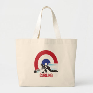 Curling Is Cool Day - Appreciation Day Large Tote Bag
