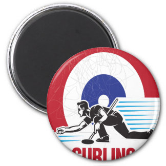 Curling Is Cool Day - Appreciation Day Magnet