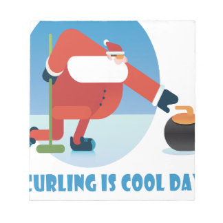Curling Is Cool Day - Appreciation Day Notepad
