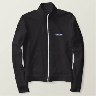 Curling Logo Embroidered Jacket