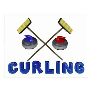 Curling Postcards