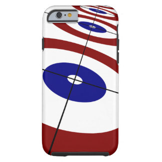 Curling Rings Cell Phone Case
