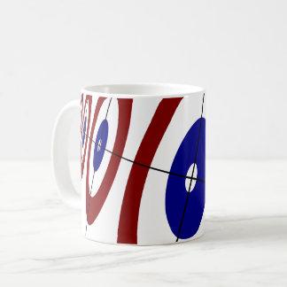 Curling Rings Coffee Mug