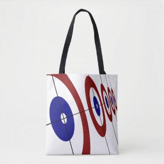 Curling Rings Tote Bag