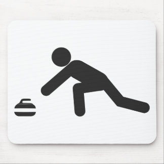 Curling slide mouse pad