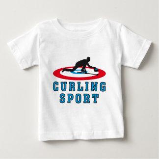 curling sport baby T-Shirt