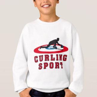 curling sport sweatshirt