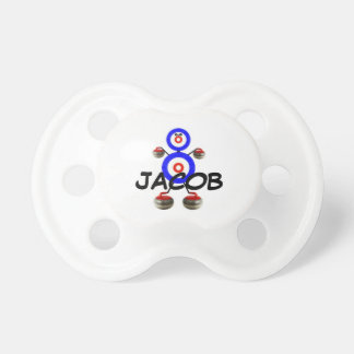 Curling Star Pacifiers
