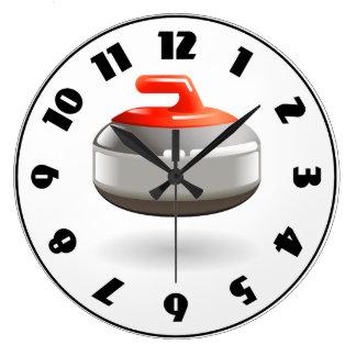 Curling Stone Clock