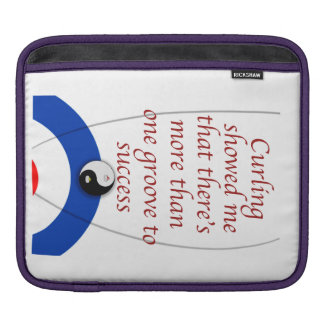Curling Success Sleeve For iPads