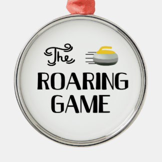 Curling, The Roaring Game Ornament